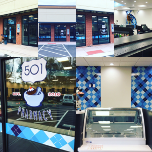 Take a look at all the work that has been completed inside and out at 501 Pharmacy!