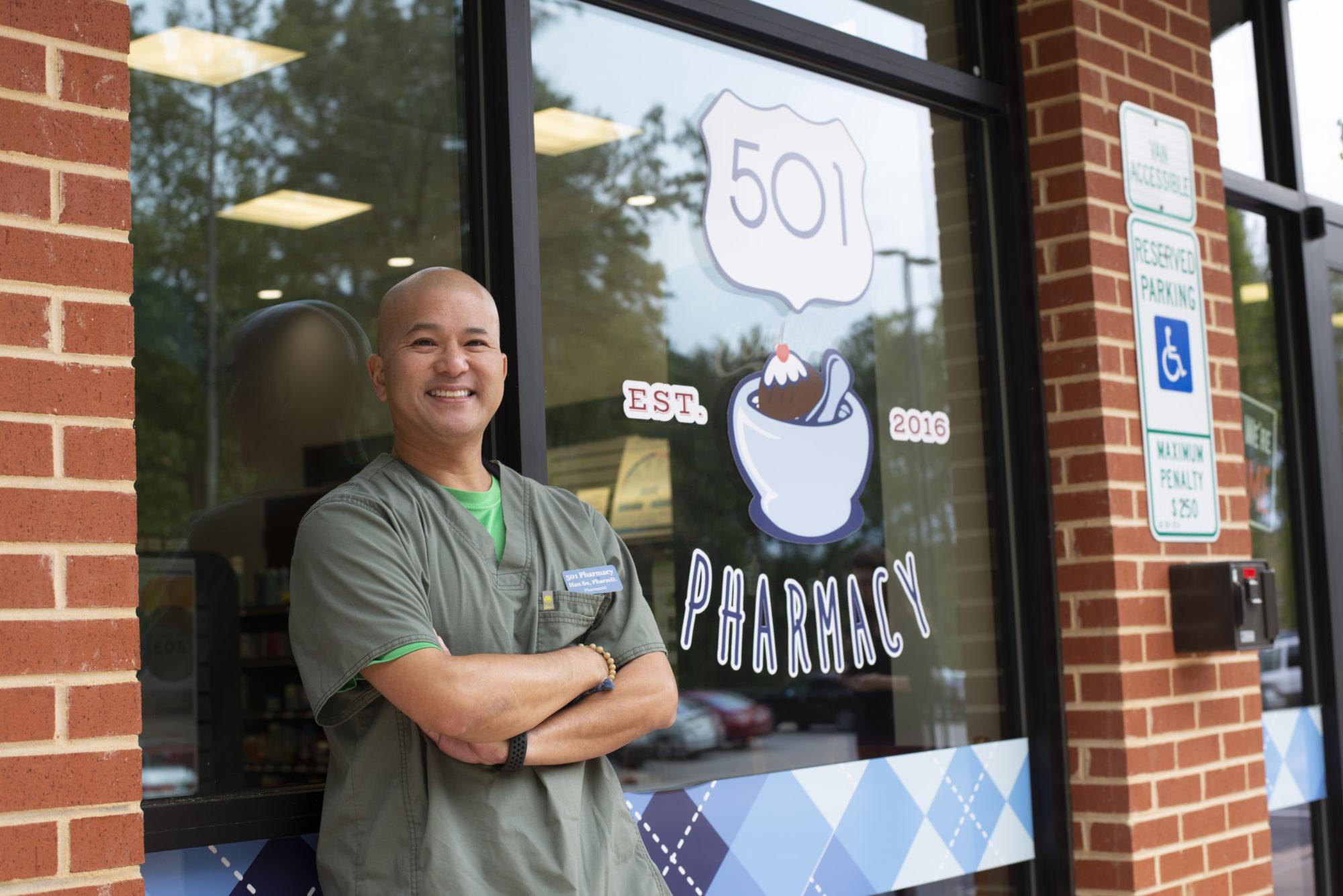 Han Su, Pharmacist, 501 Pharmacy in Chapel Hill, NC