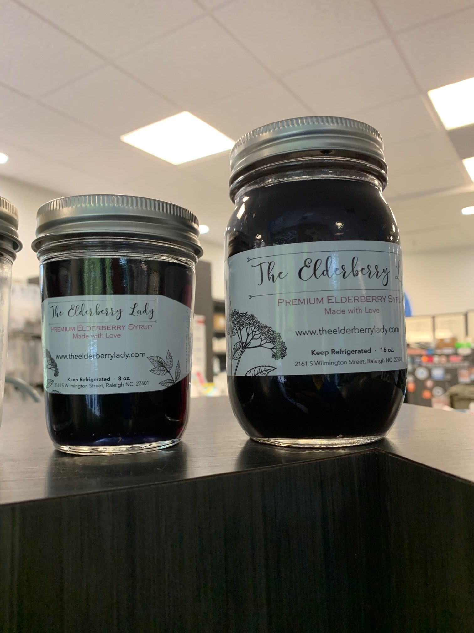 The Elderberry Lady at 501 Pharmacy