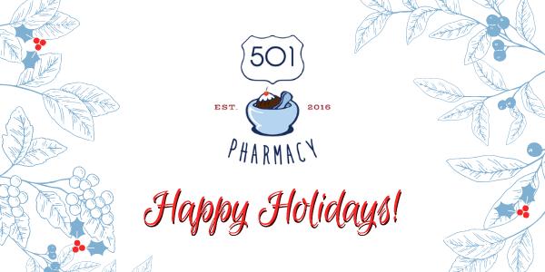 501 Pharmacy December Update