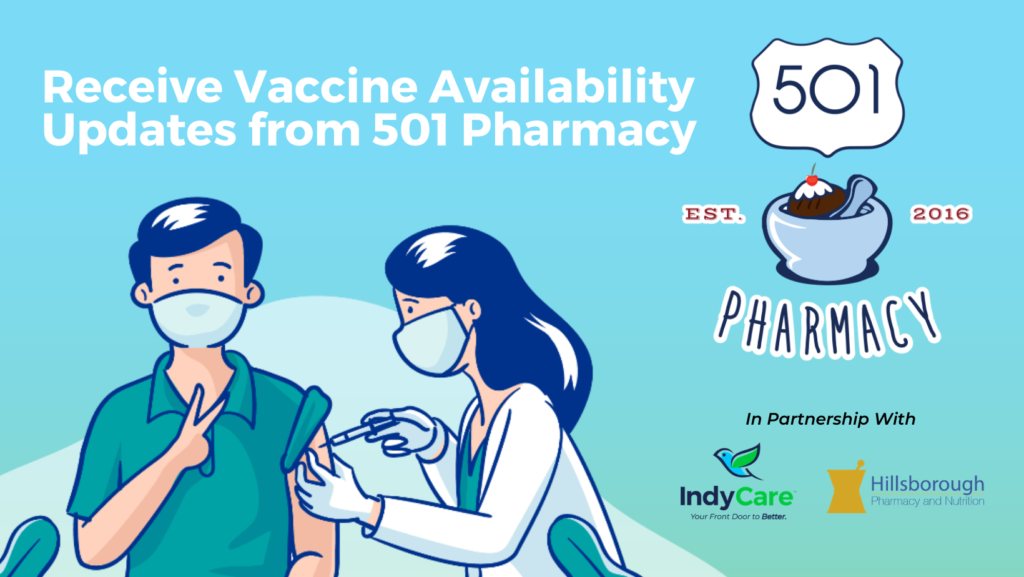501 Pharmacy Vaccine Facebook Cover