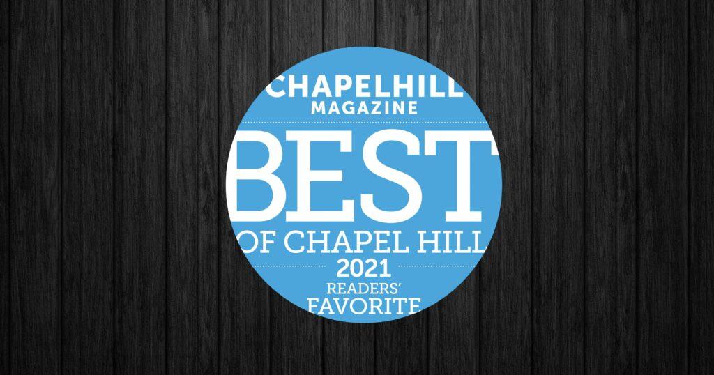 Vote 501 Pharmacy for Best of Chapel Hill
