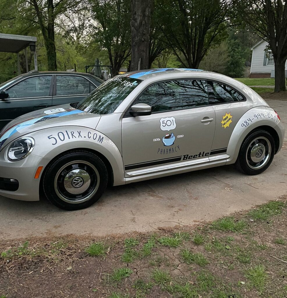 Drug Bug at 501 Pharmacy in Chapel Hill